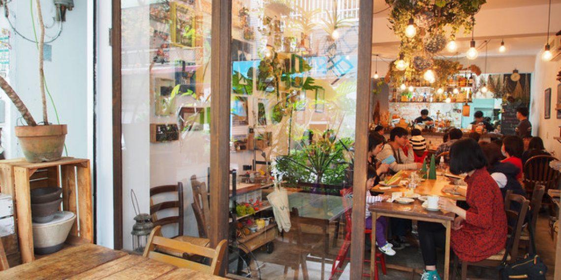 【台北 Taipei】板橋巷弄內人氣早午餐 Merci Cafe & Birkin Waffle Cafe