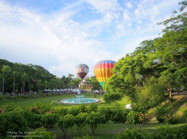 這次回家剛好遇到澄清湖第一次舉辦熱氣球活動 就帶著我的相機去拍拍