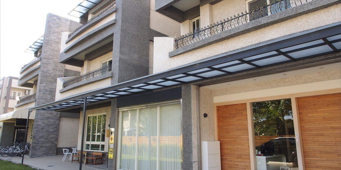 【台東 Taitung】騰旅行民宿 市區輕旅行住宿 現代簡潔設計風格及大庭院空間