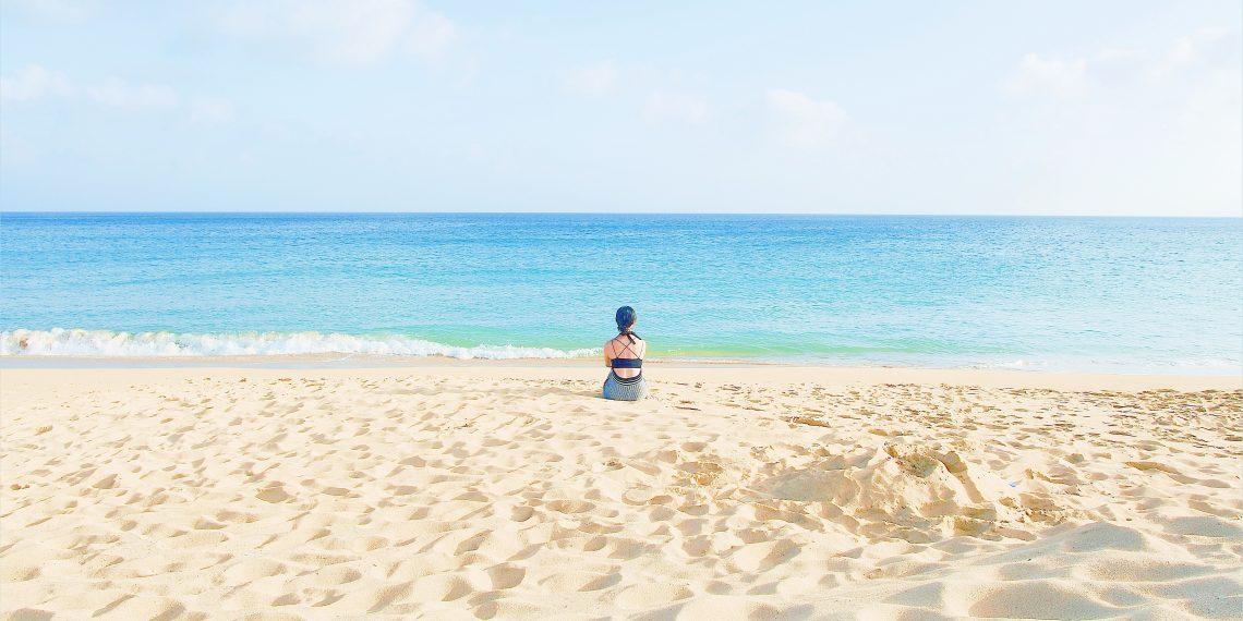 【澎湖 Penghu】山水沙灘 馬公南環的美麗沙灘 享受陽光下的碧藍夢幻白沙灘