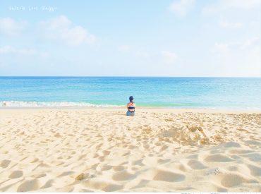 夏日的澎湖  有著風和日麗的好天氣 去過了幾個海島國家  但仍舊懷念澎湖的碧海藍天 澎湖的海清澈而透亮