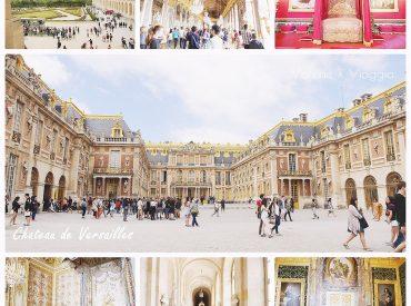 凡爾賽宮位於巴黎郊外  是歐洲最奢華壯觀的皇宮 到凡爾賽宮必須搭乘RER C  我們住的第一間公寓就鄰近RER C站 搭著電車一路行駛到巴黎郊區  路途中還可欣賞巴黎近郊的鄉村小鎮