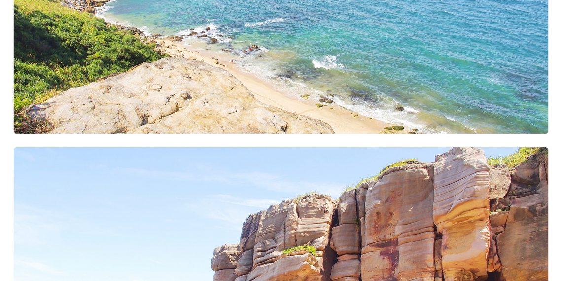 【台北 Taipei】金山東北角海岸之旅 探訪神秘海岸 神秘海灘與雙燭臺嶼