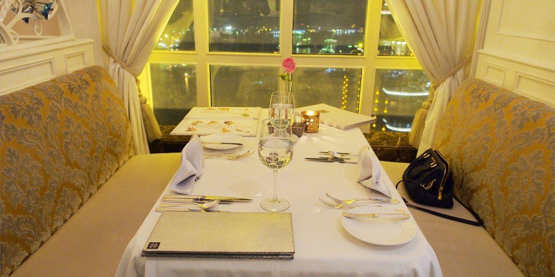 【高雄 Kaohsiung】漢來45F龍蝦酒殿 浪漫的生日燭光晚餐 眺望高雄港口夜景