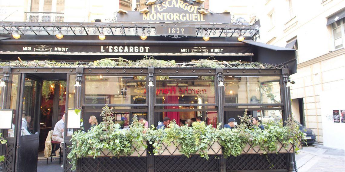 【巴黎 Paris】巴黎金蝸牛餐廳 百年老店品嚐法式名菜勃根地烤蝸牛L'Escargot Montorgueil