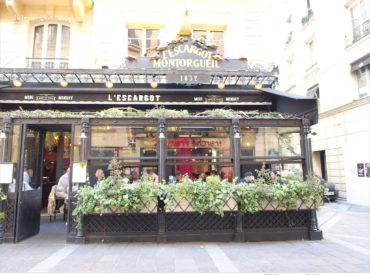 不過今天要來分享的是位於Les Halles附近的百年金蝸牛餐廳 為了品嚐法式蝸牛這道美食  我們特地來拜訪頗有名氣的L