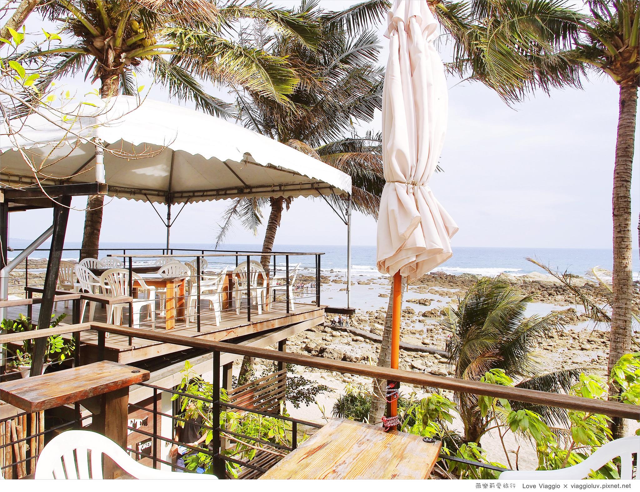 【台東 Taitung】小魚兒的家咖啡坊 卑南鄉海岸線欣賞太平洋海景咖啡