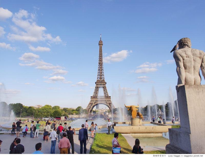 巴黎鐵塔 @薇樂莉 Love Viaggio | 旅行.生活.攝影