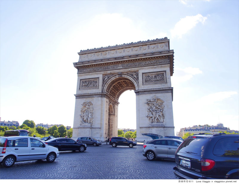 巴黎凱旋門 @薇樂莉 Love Viaggio | 旅行.生活.攝影