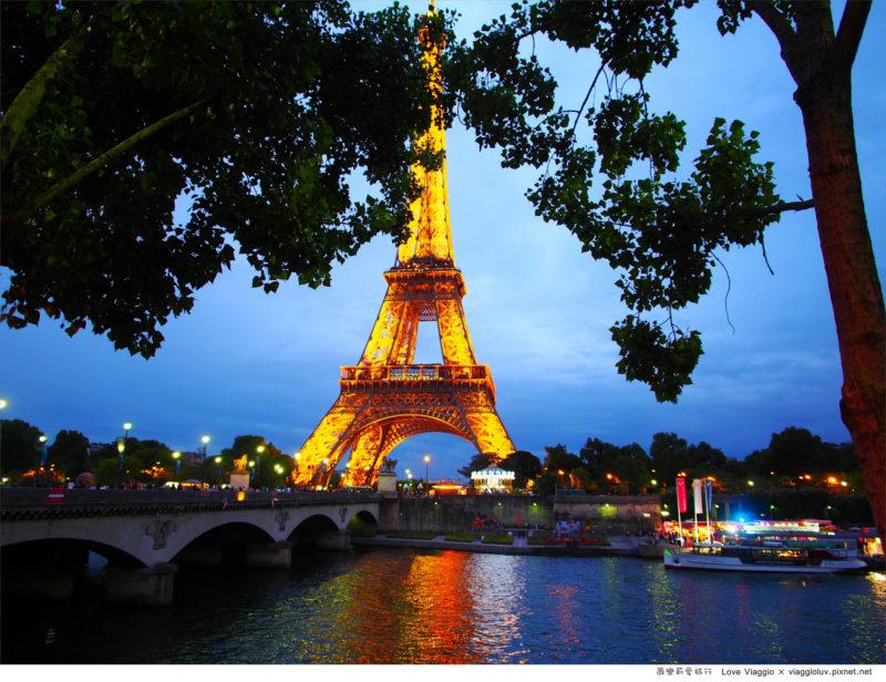 巴黎鐵塔夜景 @薇樂莉 Love Viaggio | 旅行.生活.攝影