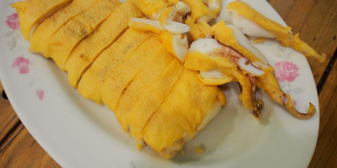 【台南 Tainan】特色美食海膽蛋汁烤小卷  隱藏蜿蜒巷弄內的松仔腳海鮮燒烤店