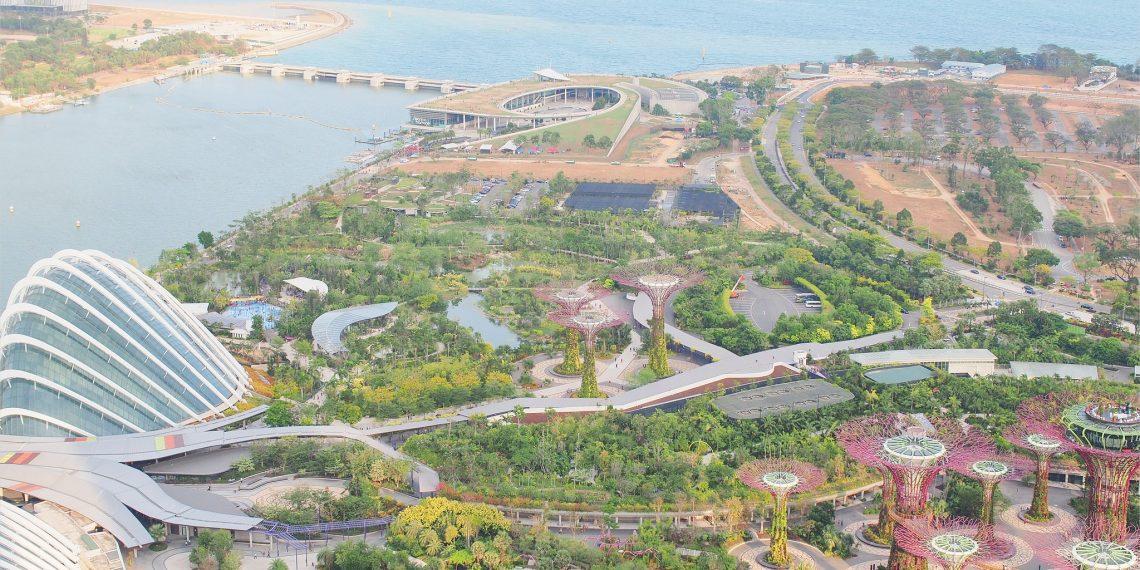 【新加坡 Singapore】慢步Esplanade濱海藝術中心與金沙酒店頂樓眺望的無敵視野
