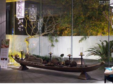 離台中市區一個小時的車程  我們來到谷關溫泉 入住台中知名水舞集團旗下的水舞谷關