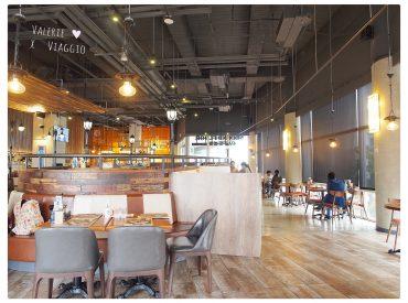 台北知名的早午餐店貳樓終於來高雄開分店 之前在台北想吃總是大排長龍  而這間貳樓位於大魯閣裡  餐廳很大座位也很多