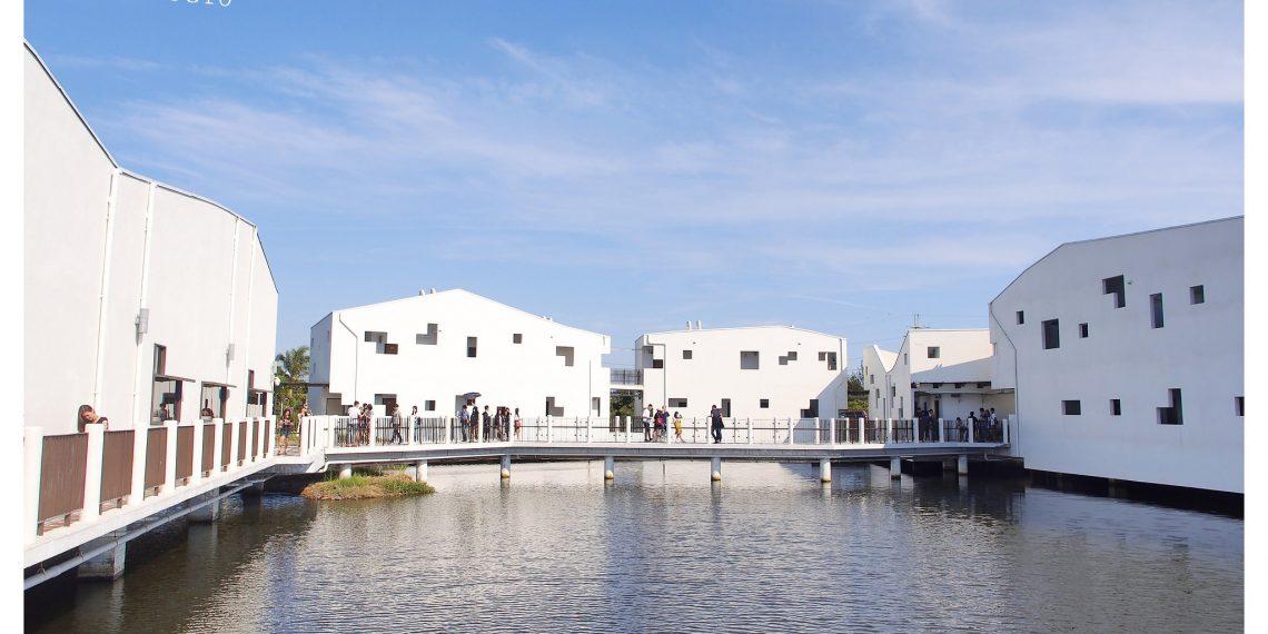 【台南 Tainan】純白色的幾何水上建築 台江國家公園遊客中心 IG熱門打卡景點