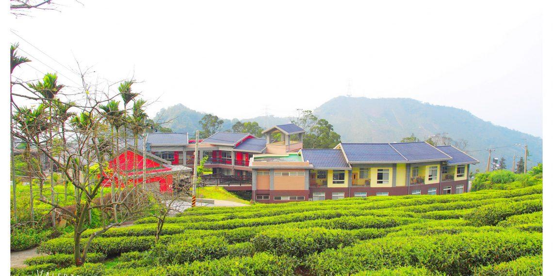 【雲林 Yunlin】古坑樟湖國小 緊鄰茶園森林的繽紛建築 台灣首座森林生態中小學