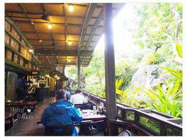 在沖繩北部吃過了海鮮蓋飯 也非常推薦來這間百年古家的阿咕豬料理 大家Ufuya是一間白年歷史的傳統日式老屋 建於明治時期的後期 最著名的就是沖繩特產阿咕豬料理