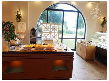 日航飯店 Nikko Alivlia 除了還境很美 早餐也讓我印象深刻 在日航飯店用早餐有三間餐廳可以選擇 個別是西式的Verdemar 西式與日式合併的HANA HANA及日式的佐和