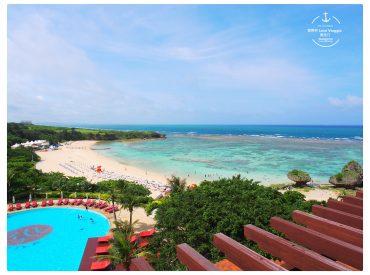 沖繩的海灘飯店離市區有一段距離 想要玩水的話可以選擇入住幾天海灘飯店 選擇飯店時花了一些時間研究 最後決定這間西班牙南歐風的日航 Alivila 會選擇入住日航是因為很喜歡它的西班牙南歐風格