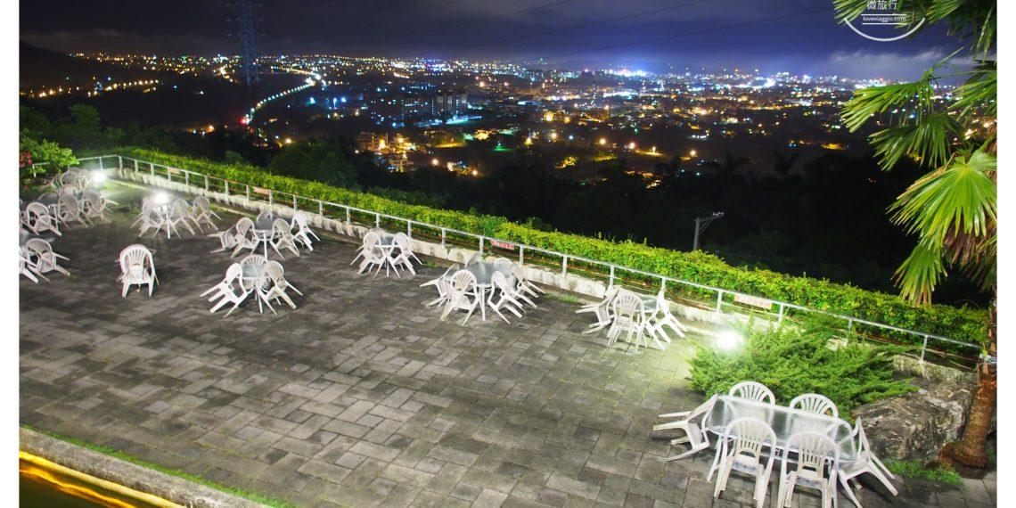 【花蓮 Hualien】向陽山茶舖喝茶聊天 俯瞰花蓮山腳下的璀璨夜景