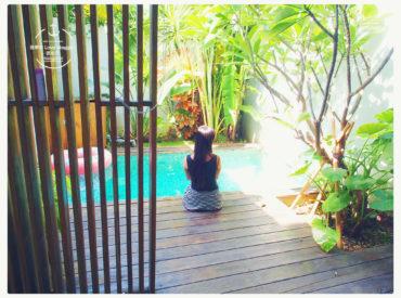 好懷念峇里島的Villa 一直嚷嚷著說要再回去住一次 想念專屬的獨棟泳池 還有專人服務吃不完的下午茶早晚餐 沒想到來到墾丁的隱半島也滿足了我小小心願
