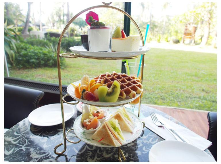 【墾丁 Kenting】墾丁凱撒飯店下午茶 陽光椰子樹充滿峇里島風情