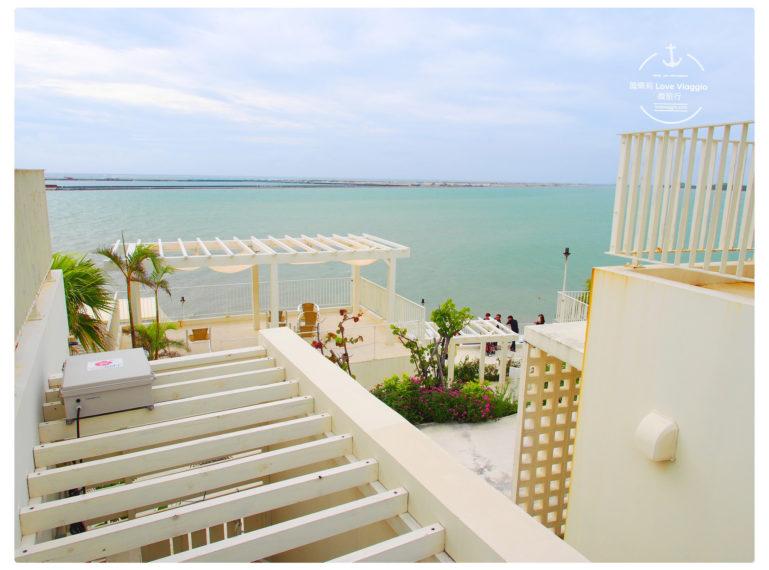 【沖繩 Okinawa】瀨長島購物中心 白色建築與藍天大海的小希臘風格 Umikaji Terrace