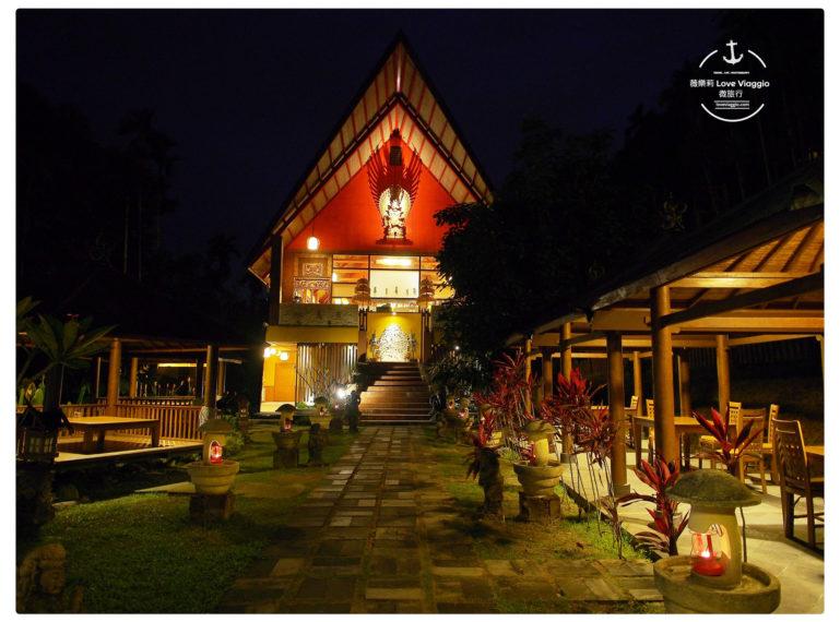 【南投 Nantou】烏布雨林峇里島主題餐廳 魚池鄉山林中的峇里島異國特色建築