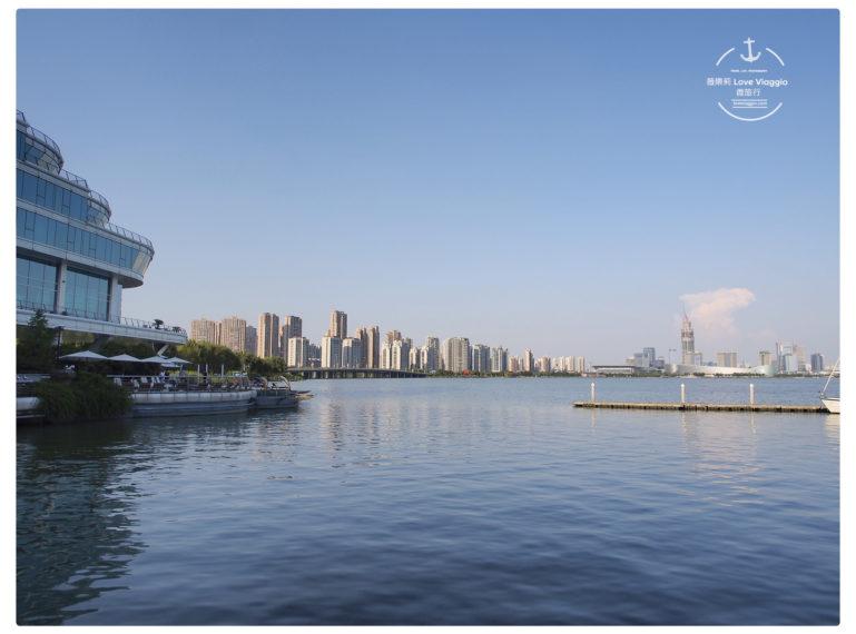 【蘇州 Suzhou】金雞湖中茵皇冠假日酒店 面湖房眺望金雞湖美景